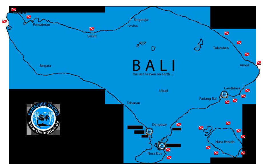 Diving Bali German diving school PT Paradise Diving Bali